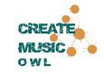 Logo: Create.Music.OWL proudly presents: Create.Music-Live!